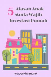 6 Alasan Anak Muda Wajib Investasi Rumah