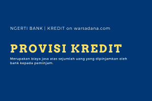 biaya provisi kredit