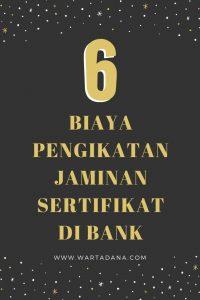 biaya pengikatan jaminan sertifikat di bank