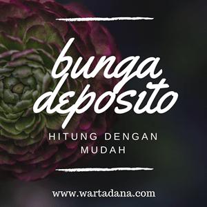CARA HITUNG BUNGA DEPOSITO - Pake HP Doang!
