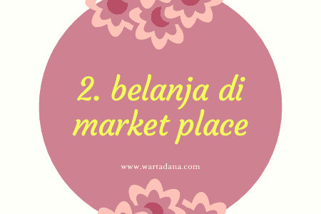 belanja di market place