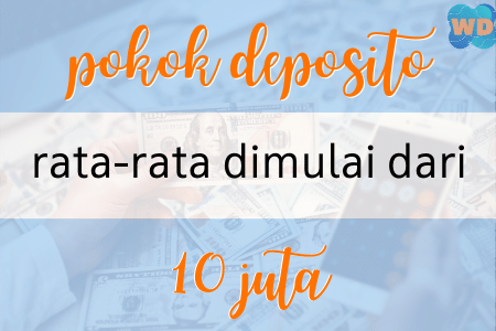 minimal deposito bank