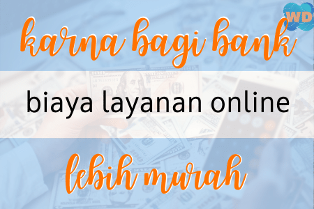 biaya layanan online lebih murah
