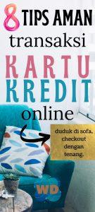 tips aman transaksi kartu kredit online