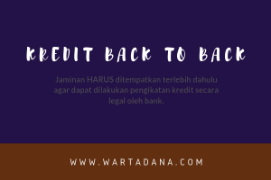 Jaminan Kredit Back to Back