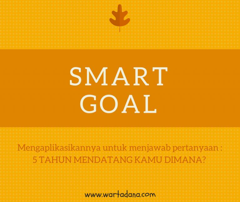 SMART GOAL – 5 TAHUN MENDATANG KAMU DIMANA?