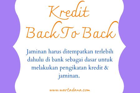 penempatan jaminan back to back