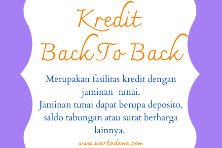 pengertian kredit back to back