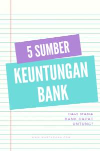 dari mana bank dapat untung