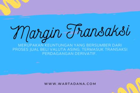 margin transaksi