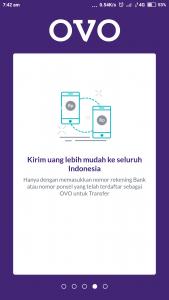 Proses mendaftar OVO