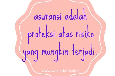 asuransi adalah proteksi atas risiko
