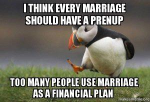 pernikahan bukanlah rencana keuangan masa depan