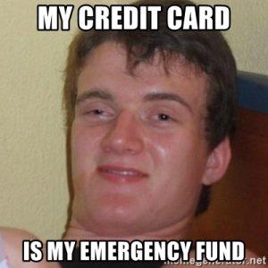 dana daruratku adalah kartu kredit