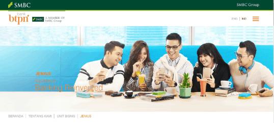 Aplikasi Jenius BTPN Banking Reinvented