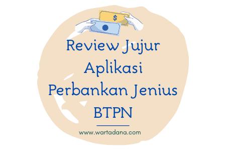 Review Penggunaan Aplikasi Perbankan Jenius BTPN