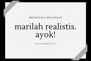 mari berpikir realistis