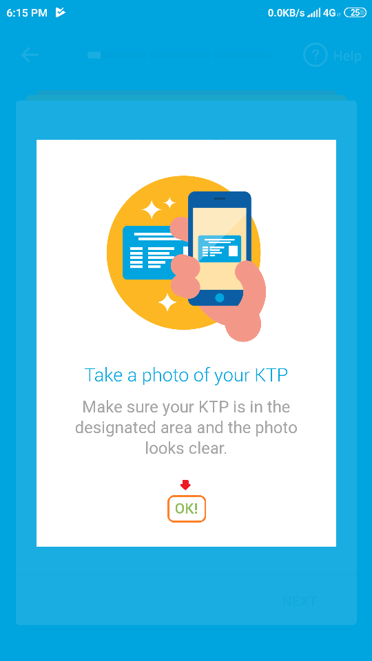 19 mengambil foto KTP