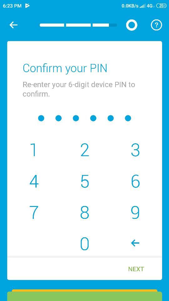 46 mengkonfirmasi PIN