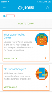 Wallet centre Jenius BTPN