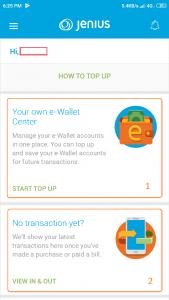 Wallet centre Jenius BTPN