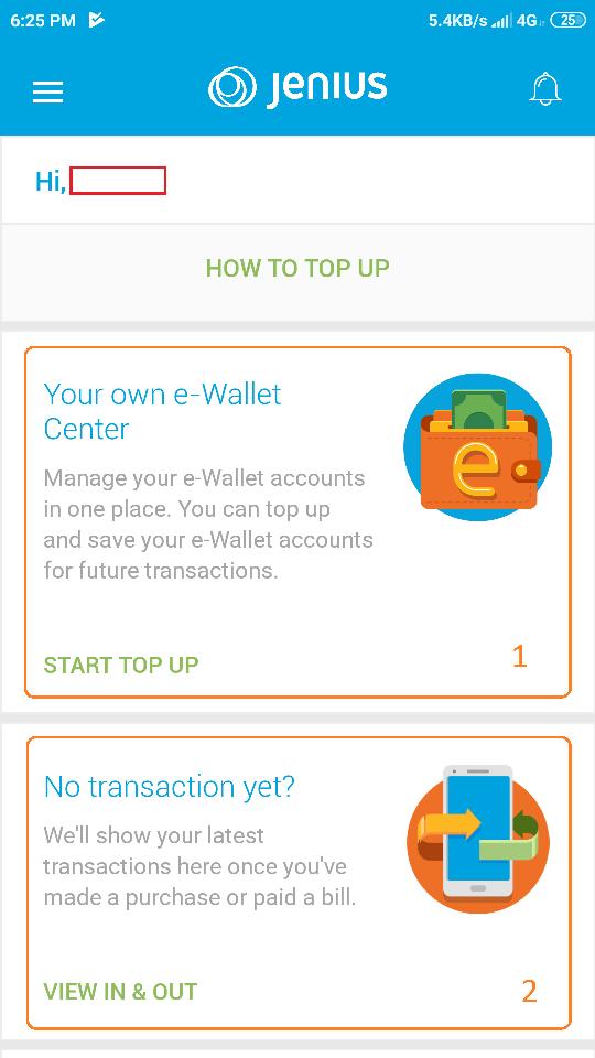 58 wallet centre Jenius