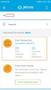 bonus free kuota awal Jenius