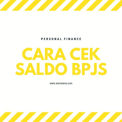 CARA CEK SALDO BPJS ONLINE Step by Step (Mudah Banget!)