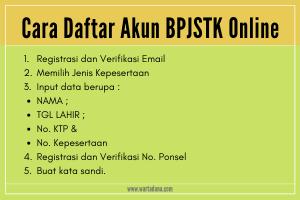 cara daftar akun BPJSTK online