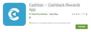 install aplikasi cashbac