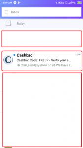 Email dari cashbac