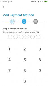 Konfirmasi PIN Akun Cashbac