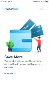Memakai Aplikasi Cashbac