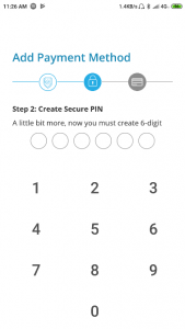 membuat PIN akun cashbac