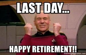 memasuki masa pensiun