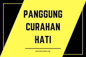 PANGGUNG CURAHAN HATI