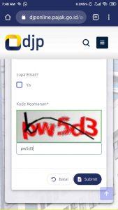 ganti email djp online