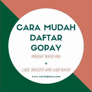 CARA DAFTAR GOPAY + UPGRADE GOPAY PLUS (Buat Kartu Prakerja)