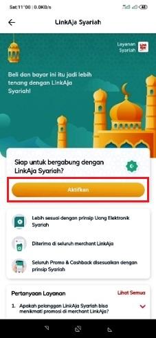 konversi linkaja syariah