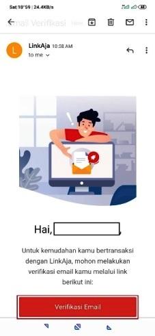 verifikasi email linkaja