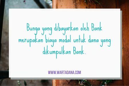 biaya modal bank