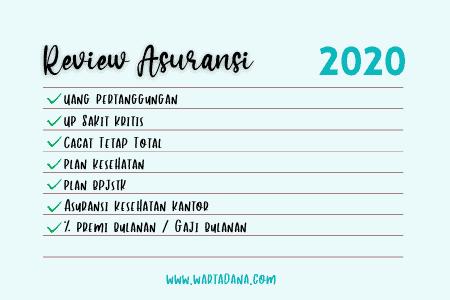 review asuransi akhir tahun
