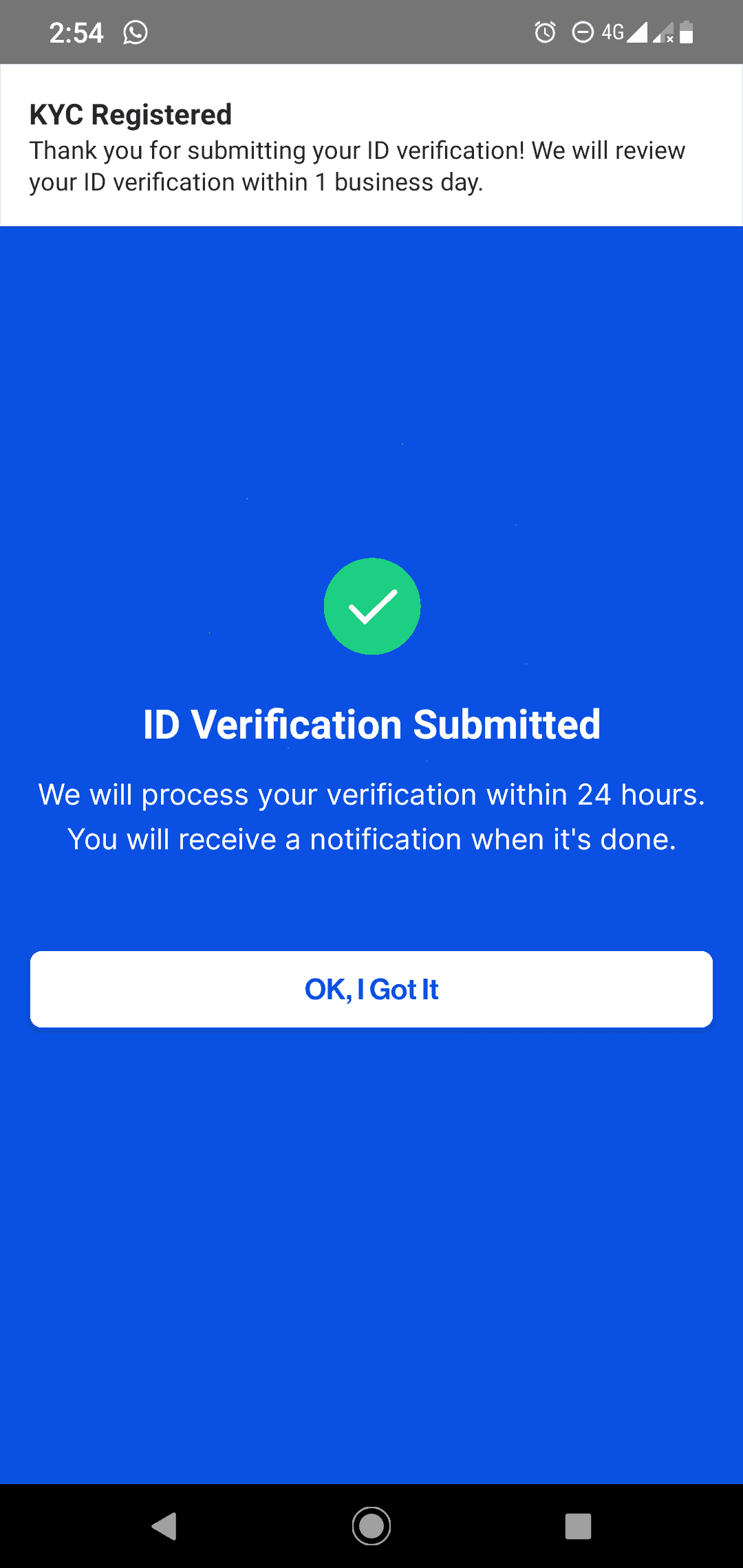 submit verifikasi pintu