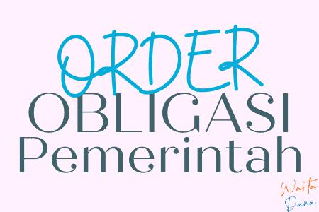 order obligasi pemerintah